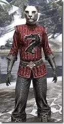Alliance Rider Outfit EP - Khajiit Female Close Front