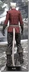 Alliance Rider Outfit EP - Khajiit Female Rear