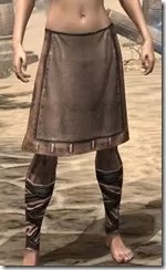 Aproned Kilt and Trousers Female Front