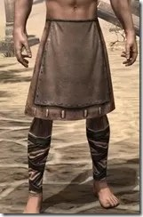 Aproned Kilt and Trousers Male Front