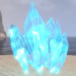 Blue Crystal Cluster, Large