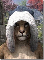 Colovian Fur Hood Khajiit Front