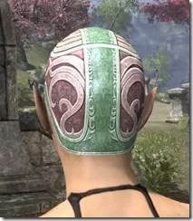 Psijic Skullcap Dyed Rear