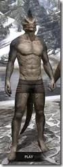 Sable Man-Beast - Argonian Front
