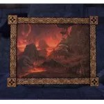 Velothi Painting, Modest Volcano