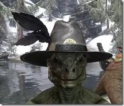 Werewolf Hunter Hat - Argonian Front