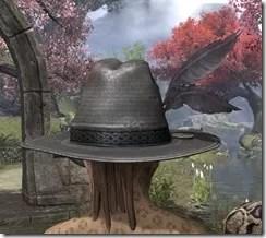 Werewolf Hunter Hat - Khajiit Rear