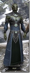 Ancestral Homage Formal Gown - Argonian Male Front