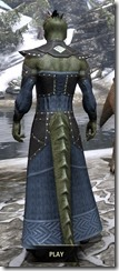 Ancestral Homage Formal Gown - Argonian Male Rear