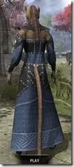 Ancestral Homage Formal Gown - Khajiit Female Rear