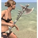 Dead-Water Iron Axe