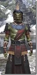 Elder Argonian - Argonian Male Robe Close Front