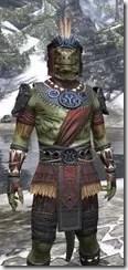 Elder Argonian - Argonian Male Shirt Close Front