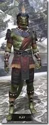 Elder Argonian - Argonian Male Shirt Front