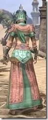 Elder Argonian - Dyed Robe Rear