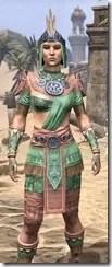 Elder Argonian - Dyed Shirt Close Front