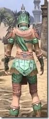 Elder Argonian - Dyed Shirt Close Rear