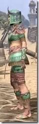 Elder Argonian - Dyed Shirt Side