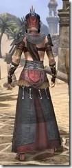 Elder Argonian - Female Robe Rear