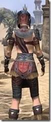 Elder Argonian - Female Shirt Close Rear
