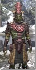 Elder Argonian Heavy - Argonian Male Close Front