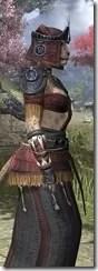 Elder Argonian - Khajiit Female Robe Close Side