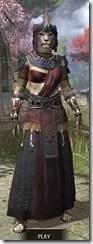 Elder Argonian - Khajiit Female Robe Front