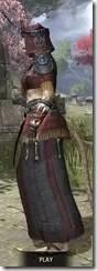 Elder Argonian - Khajiit Female Robe Side