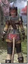 Elder Argonian - Khajiit Female Shirt Close Rear