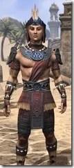 Elder Argonian - Male Shirt Close Front