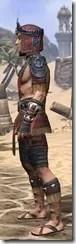 Elder Argonian - Male Shirt Side