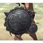 Elder Argonian Maple Shield