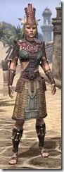 Elder Argonian Rubedite - Female Front
