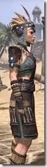 Elder Argonian Rubedo Leather - Female Close Side