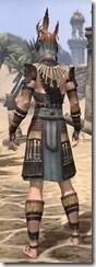 Elder Argonian Rubedo Leather - Female Rear