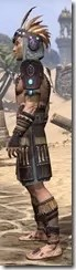 Elder Argonian Rubedo Leather - Male Side