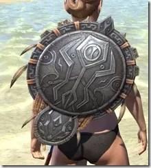Elder Argonian Ruby Ash Shield 1