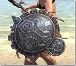 Elder Argonian Ruby Ash Shield 2