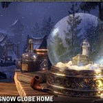 Enchanted Snow Globe Home