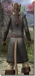 Forge-Wife's Impervious Frock Khajiit Female Close Rear