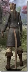 Forge-Wife's Impervious Frock Khajiit Female Rear