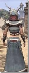 Huntsman Ancestor Silk - Female Robe Close Rear