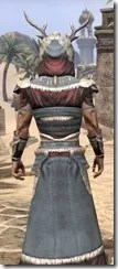 Huntsman Ancestor Silk - Male Robe Close Rear