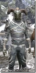 Huntsman Iron - Argonian Male Close Front