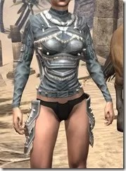 Huntsman Iron Cuirass - Female Front