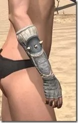 Huntsman Iron Gauntlets - Female Right