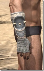 Huntsman Iron Gauntlets - Male Right