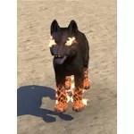 Nightmare Wolf Pup