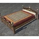 Redguard Bed, Wide Lattice