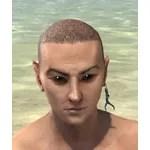 Sacred Antler Earring